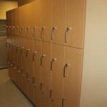 Custom wall lockers