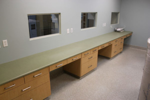 Exam room counters